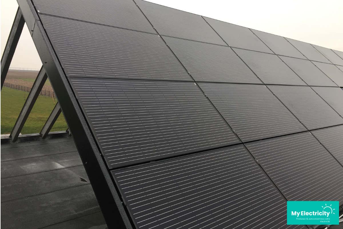 panneau axitec 330wc full black photovoltaique
